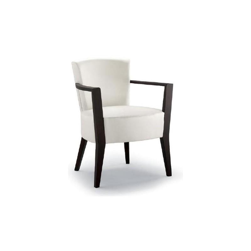 Wooden armchair