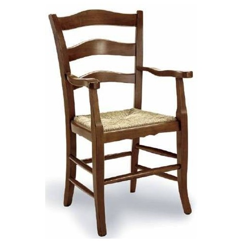 Fa szék karfákkal