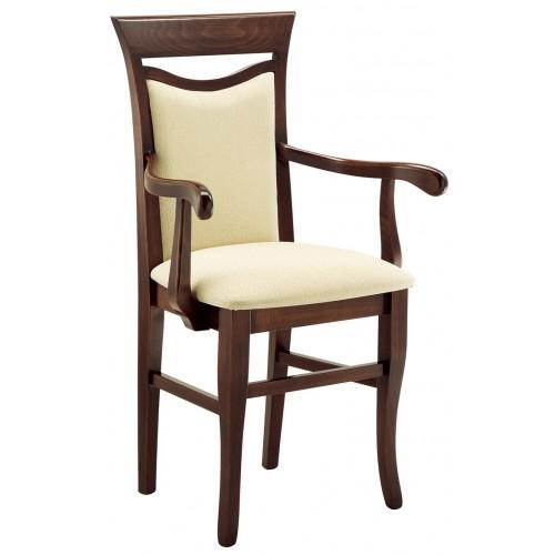 Drevená stolička pre hotely
