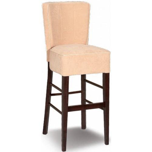 Wooden bar stool CAROL/B