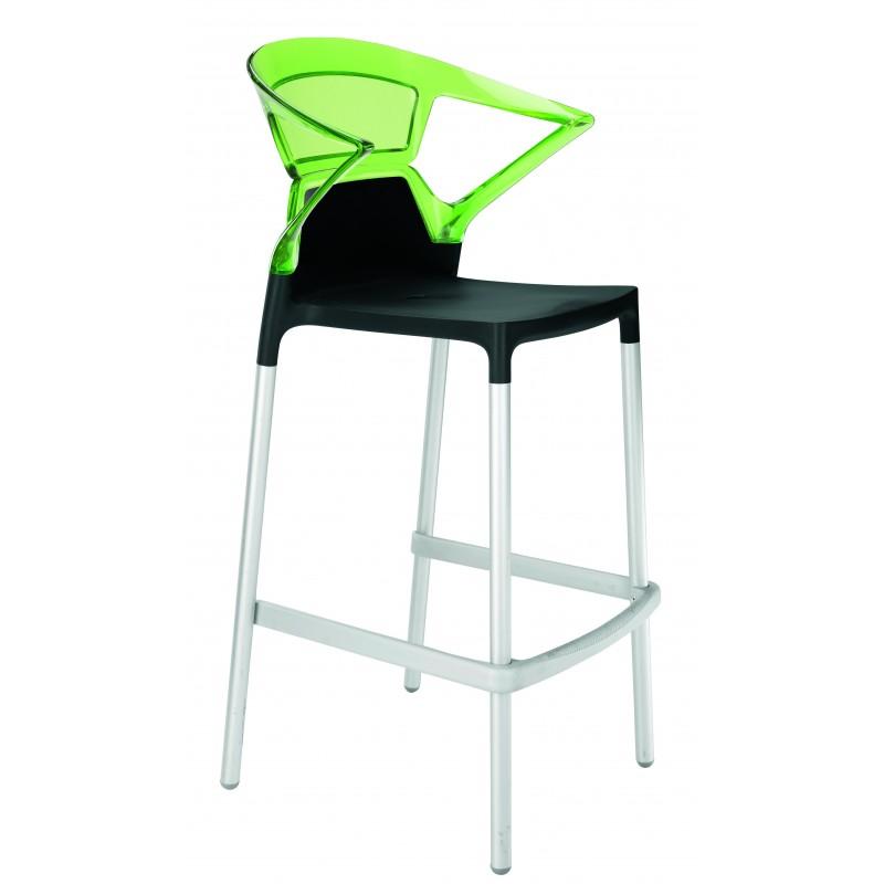 Plastová barová stolička EGO K