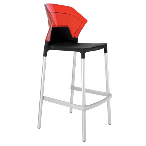 Plastová barová stolička EGO S
