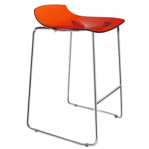Plastic bar stool X-TREME SLED