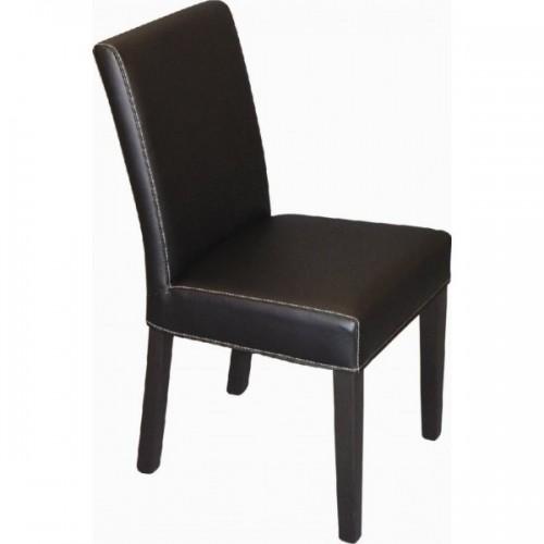 Čalúnená drevená stolička OLIVIA