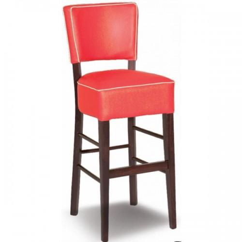 Wooden bar stool KORINA/B