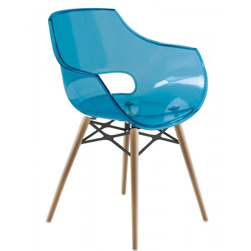 Plastic chair OPAL WOX