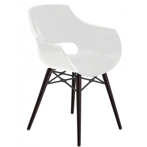 Plastic chair OPAL WOX