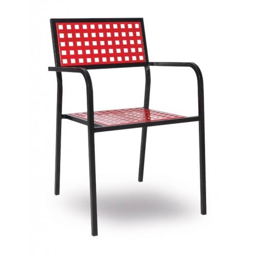 Kovová stolička VIRGINIA/P