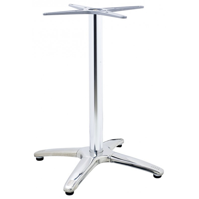 Aluminum table base Roma 4