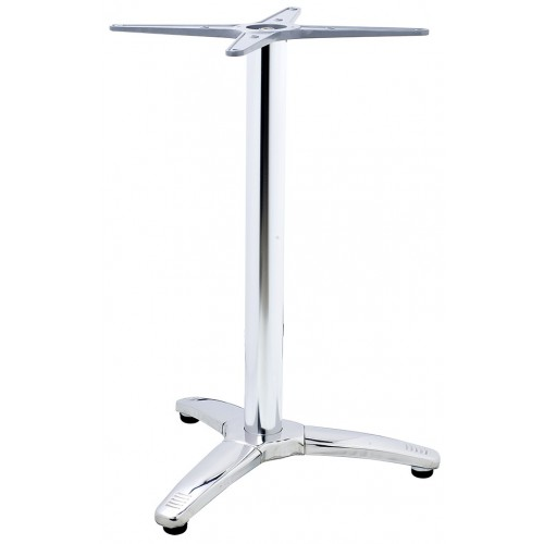 Aluminum table base Roma 3