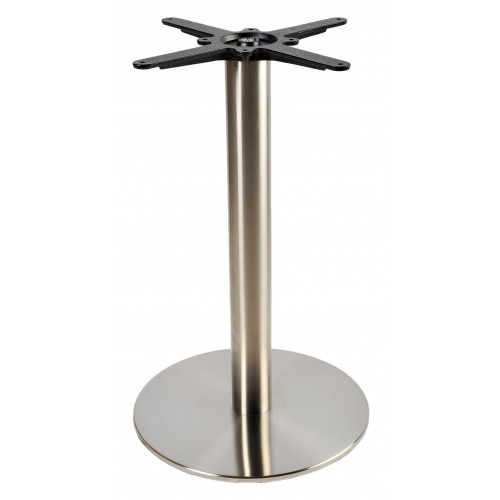 Inox table base