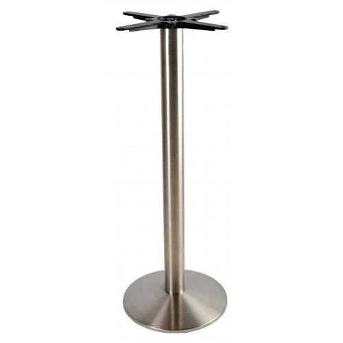 Inox bár asztalláb