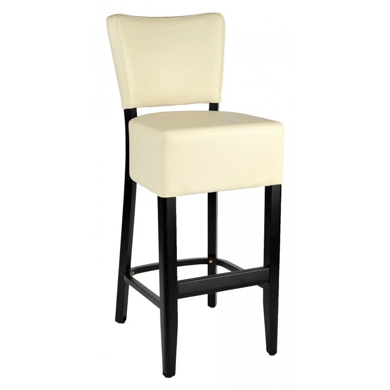 Drevená barová stolička ORNELA/B