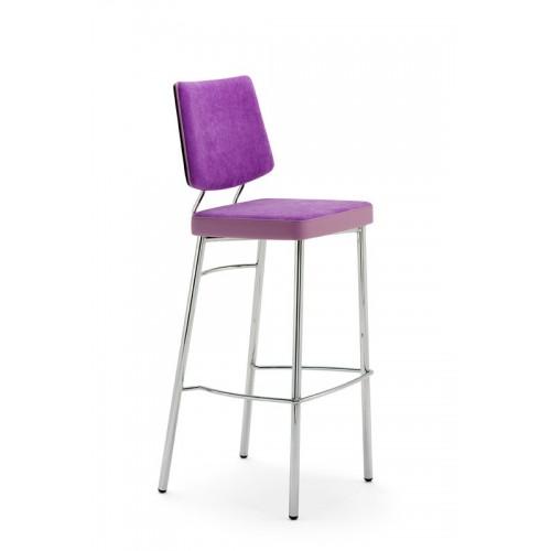 Kovová barová stolička Ella SG