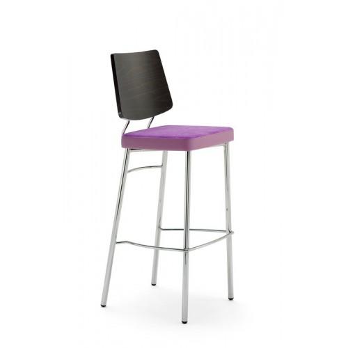 Kovová barová stolička Ella S B