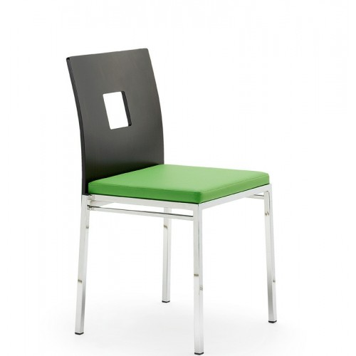 Kovová stolička Barbara H