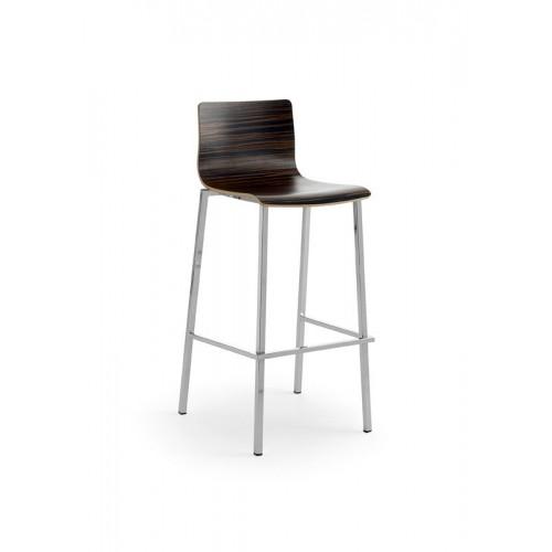 Kovová barová stolička Allysa D B