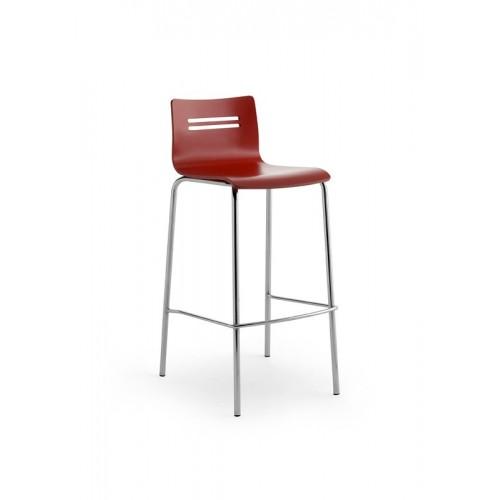 Kovová barová stolička Gladys R B