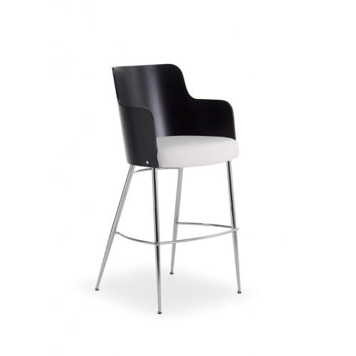 Kovová barová stolička Rose S SG