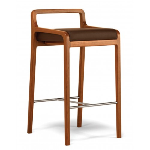 Drevená barová stolička FUJI