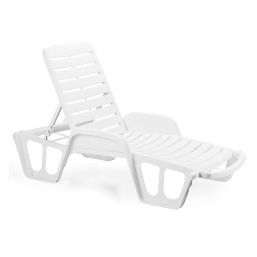 Plastic sunlounger  TINO