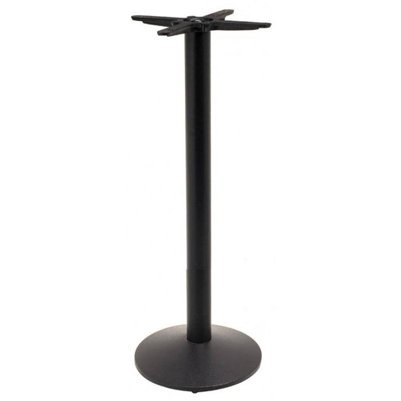 Cast iron bar table base