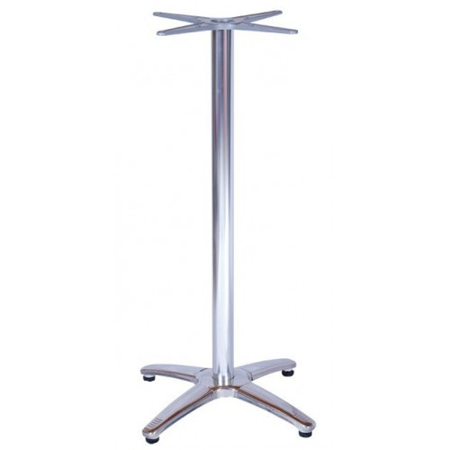 Aluminum bar table base