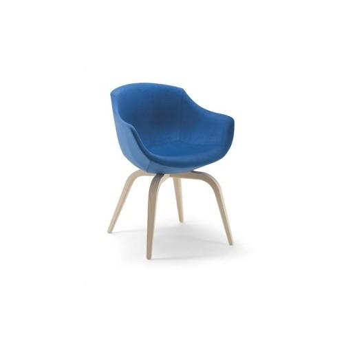 Wooden armchair COLIMBAS
