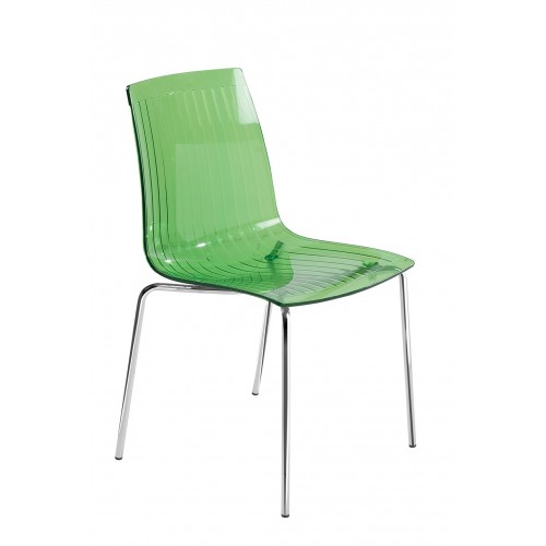 Plastic chair X-TREME S TRANSPARENT