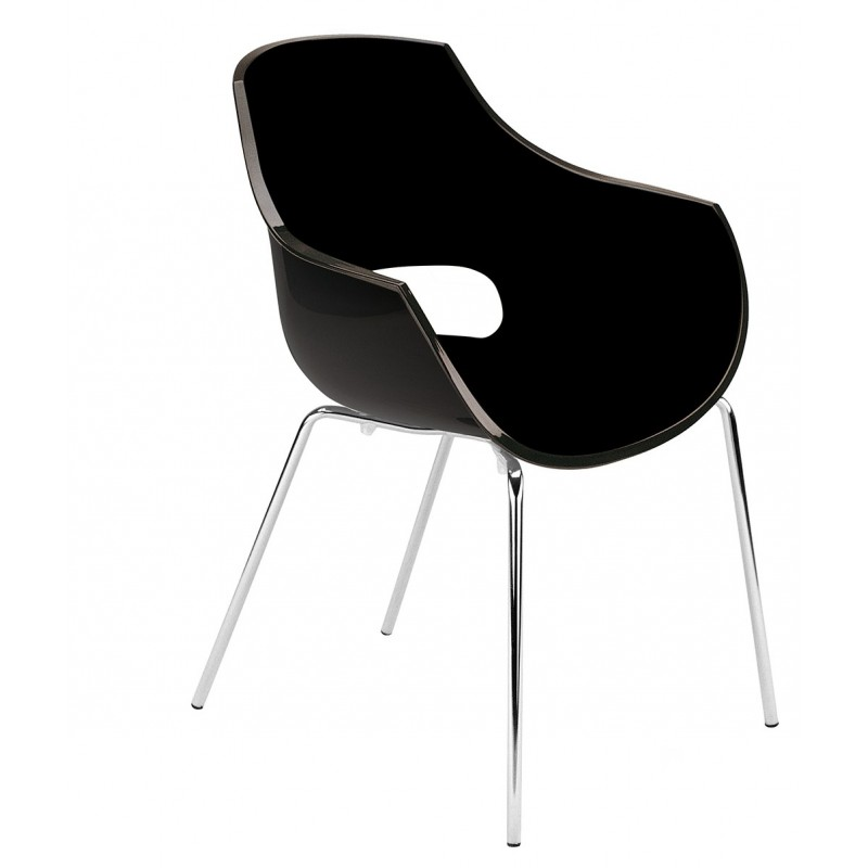 Plastic chair OPAL SOLID