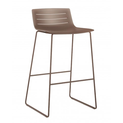 Plastic bar stool SKIN