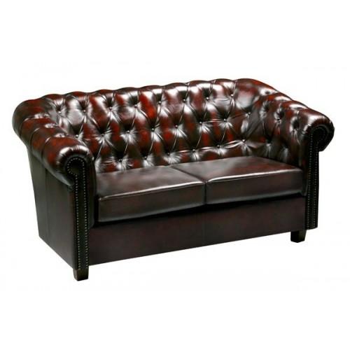 Kožená sedačka Chesterfield