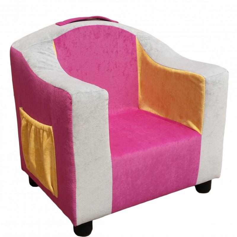 Detská čalúnená sedačka