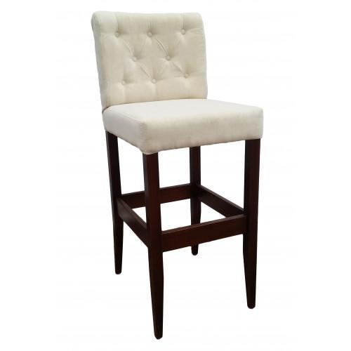 Čalúnená barová stolička
