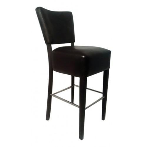 Upholstered bar stool IZABELA