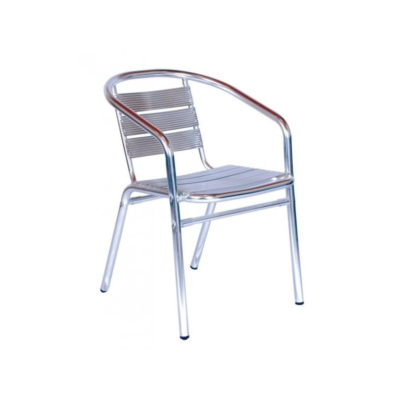Hliníková stolička ALU