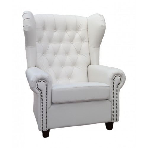 Chesterfield wing armchair