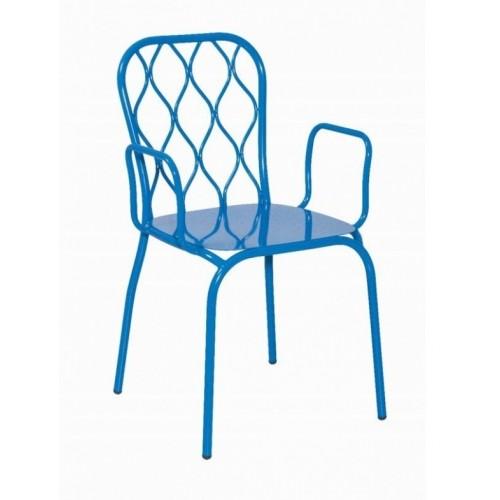 Kovová stolička IDUA/P
