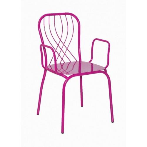 Kovová stolička TALIA/P