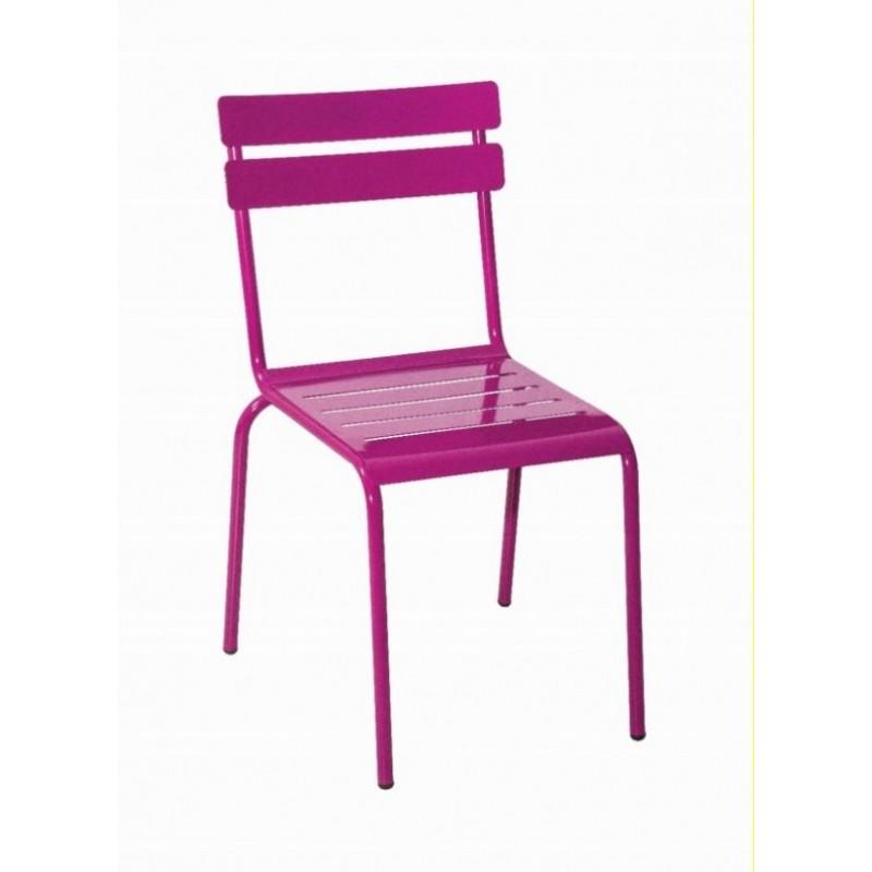 Kovová stolička MARSEILLE