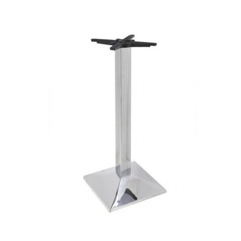 Chromovaná barová stolová podnož