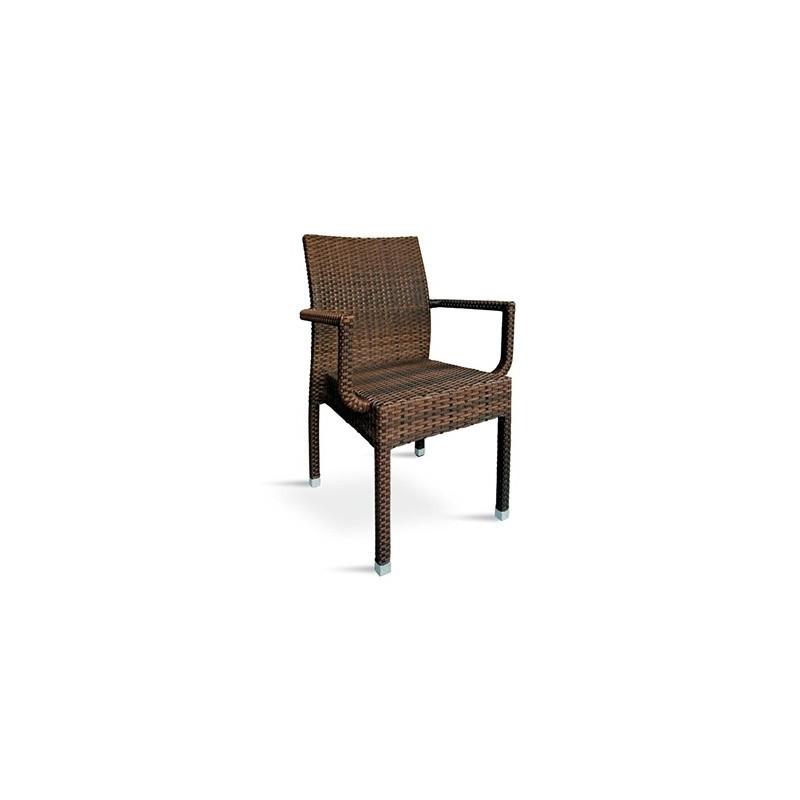 Aluminum outdoor chair JAMAICA 2