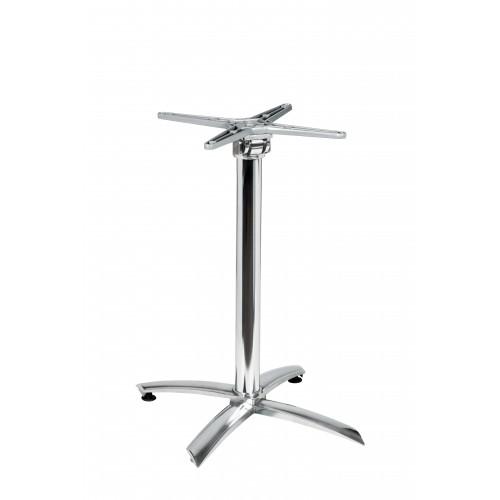 Hliníková stolová podnož 4 - sklopná