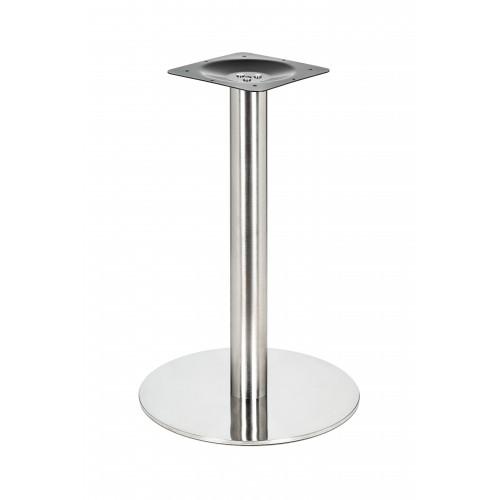 Inox table base