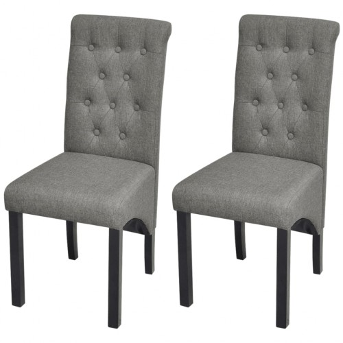 Dining chairs 2 pcs 2222