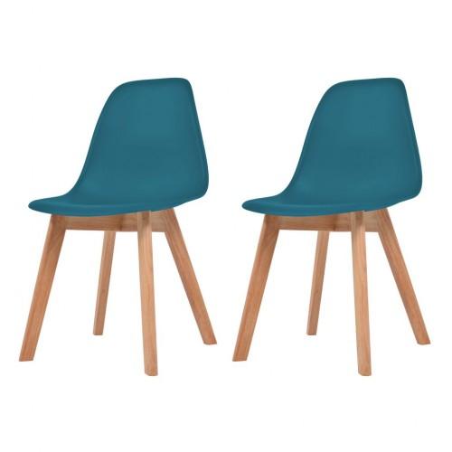 Étkező plaszt székek 2 db 4774