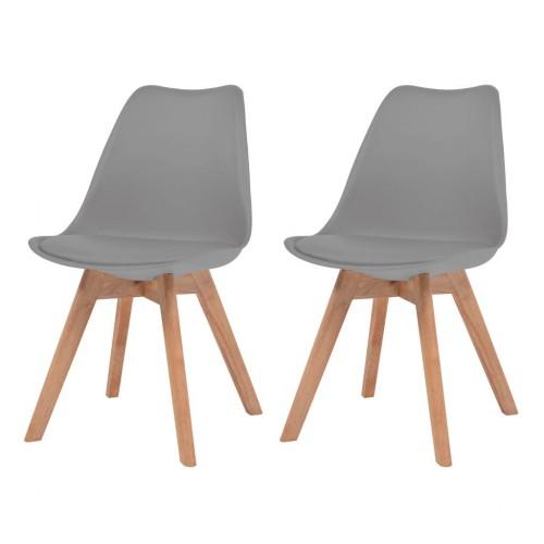 Étkező plaszt székek 2 db 4783