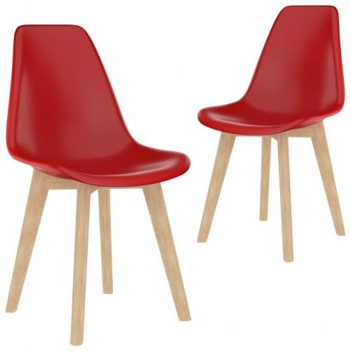 Étkező plaszt székek 2 db 9116