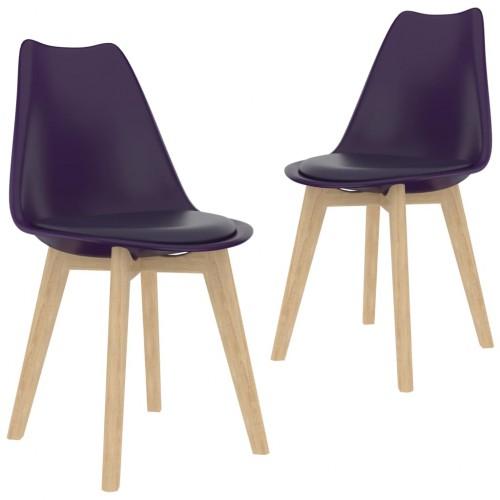 Étkező plaszt székek 2 db 9134