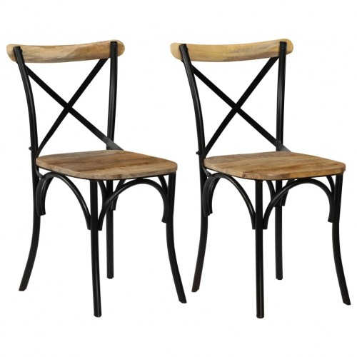 Dining chairs 2 pcs 7316